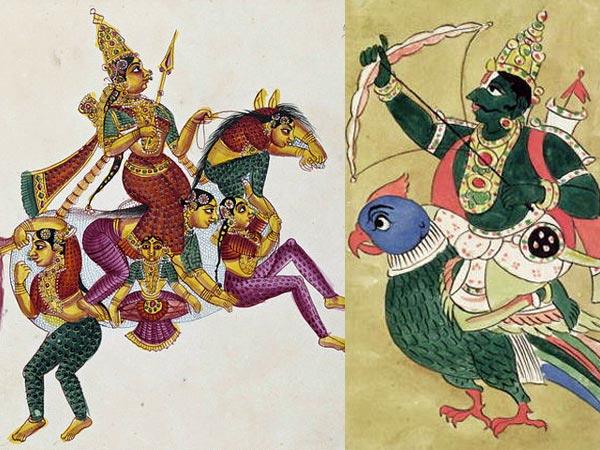 Hindu Deities And Their Amazing Vehicles Or Vahanas Boldsky Com