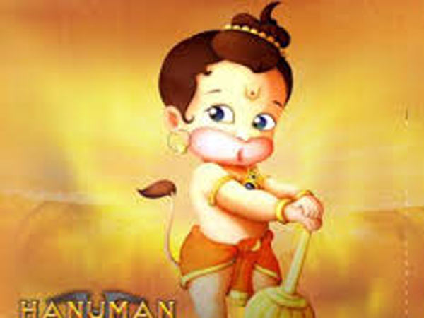 why vermilion for Hanuman