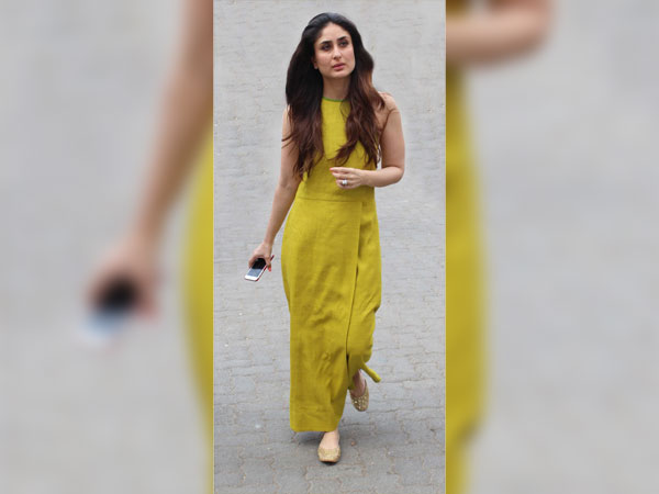 Finally! Kareena Flaunts Her Dress Instead Of An Athletic Body