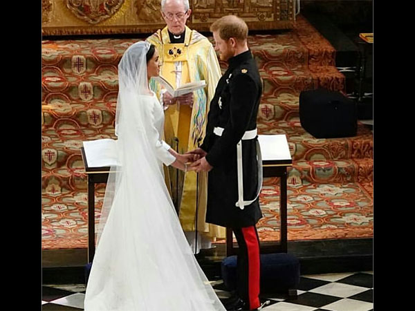 Meghan Markle gown