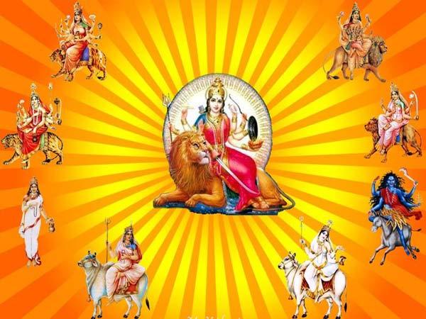 The Nine Manifestations Of Goddess Durga