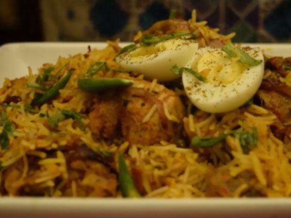 how to make chicken biryani in telugu