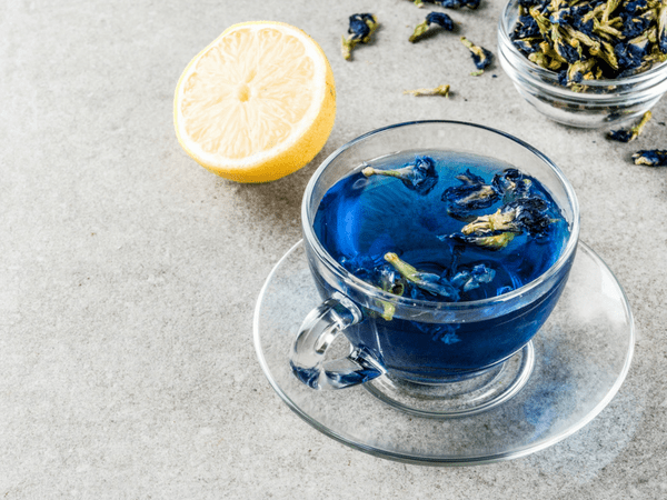 what is blue tea