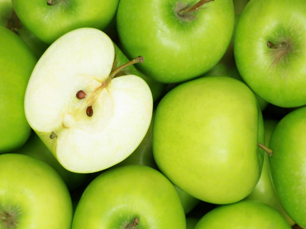 how to use green green apple for skin
