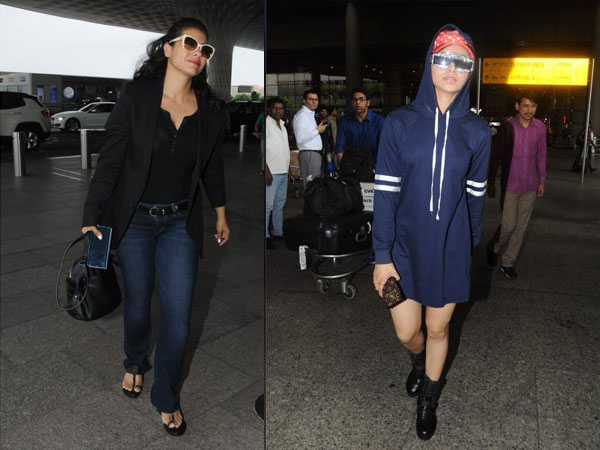 Celebs Airport Fashion