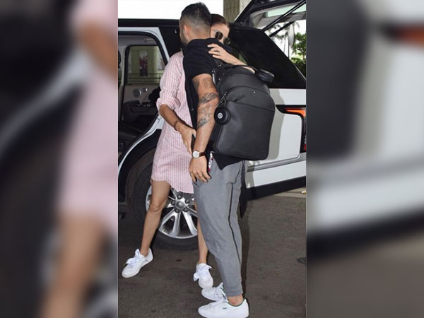 Anushka Sharma Says Bye To Virat Kohli In The Cutest Stylish Avatar Ever