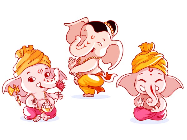 Ganesha questioned the prosperity of Kubera