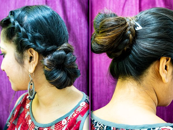 2 Braided Bun Hairstyles To Try This Wedding Season