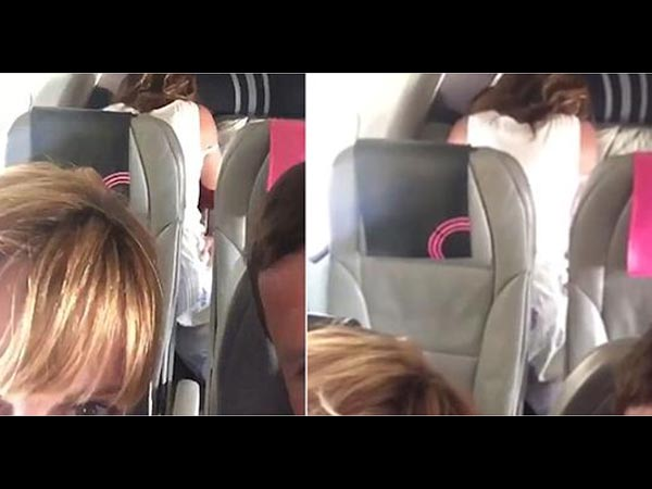 Couple Caught Having Sex In A Flight & The Video Has Been Viewed 5.63 Million Times!