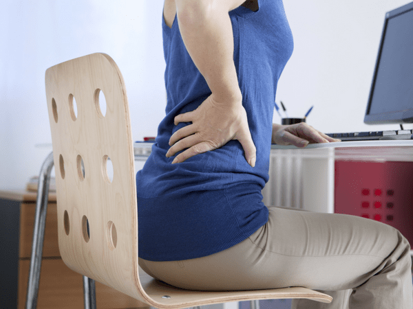 how to help with back pain at work