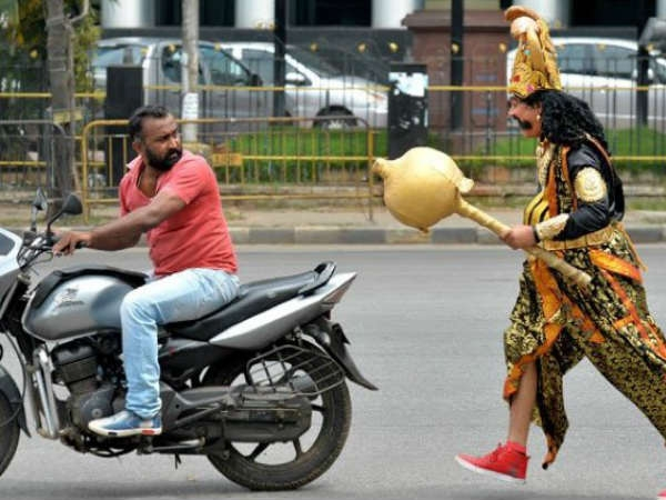 When Traffic Police Became Yamraj