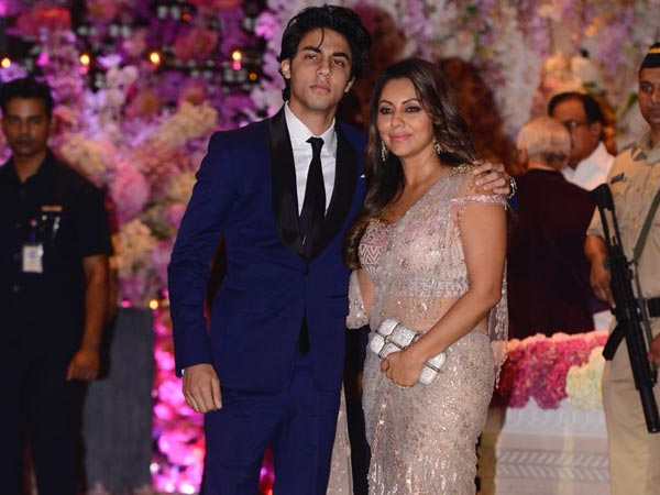 Gauri and Aryan Khan