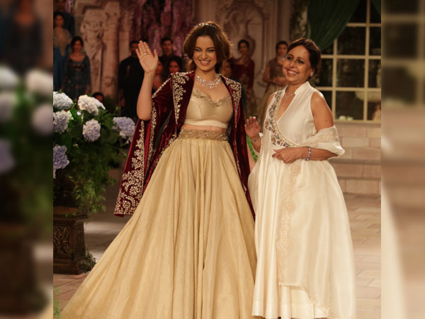 Kangana Ranaut India Couture Week