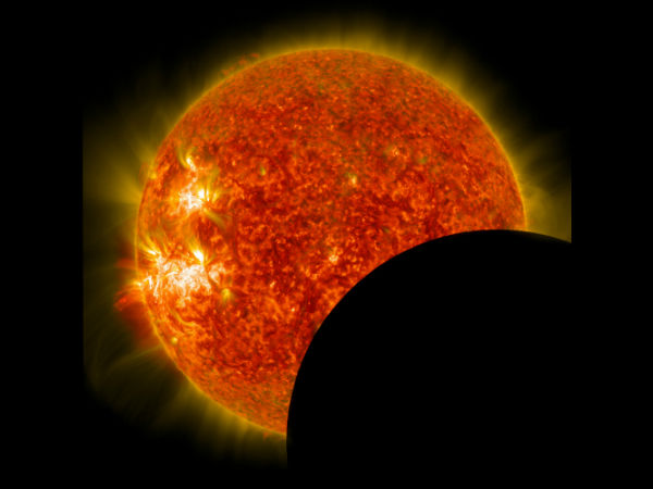 solar eclipse and Friday 13th impact