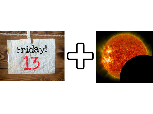myths about solar eclipse and Friday 13th