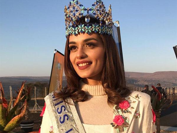 Manushi Chhillar's Formal Floral Dress Is Giving Us Major OOTD Goals
