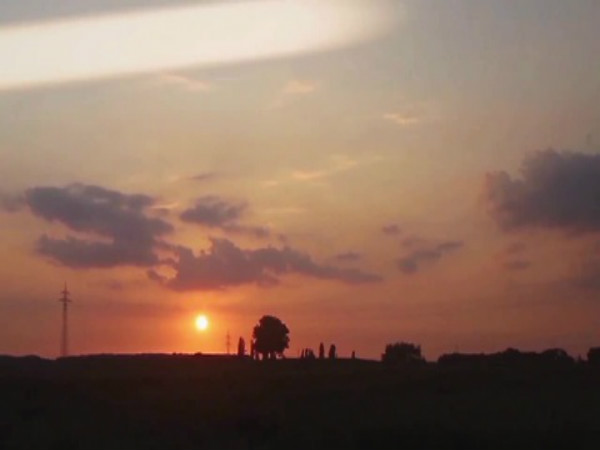 UFO Captured In A Stunning Sunset Time-lapse Video