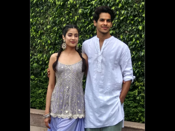 Janhvi Kapoor And Ishaan Khatter Rock Punjabi Looks For Dhadak Promotions