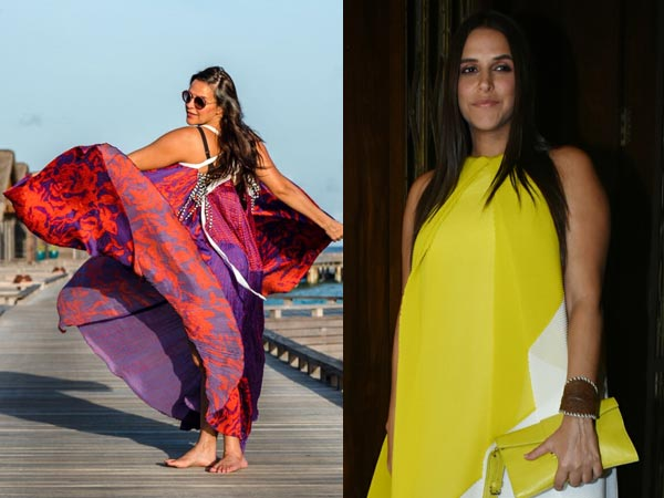 Want Comfy Party Wear Or Resort Wear Ideas? Borrow Some From Neha Dhupia