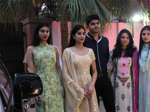 Janhvi & Khushi's Ethnic Style Garnered Eyeballs At Sridevi's Birth Anniversary Event