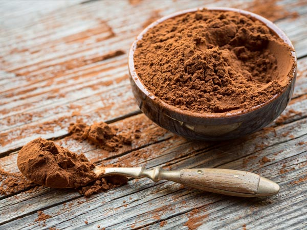 unsweetened cocoa powder nutrition