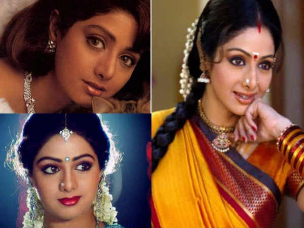 Birthday Special: Sridevi's Stunning Style Transformation In Bollywood Movies