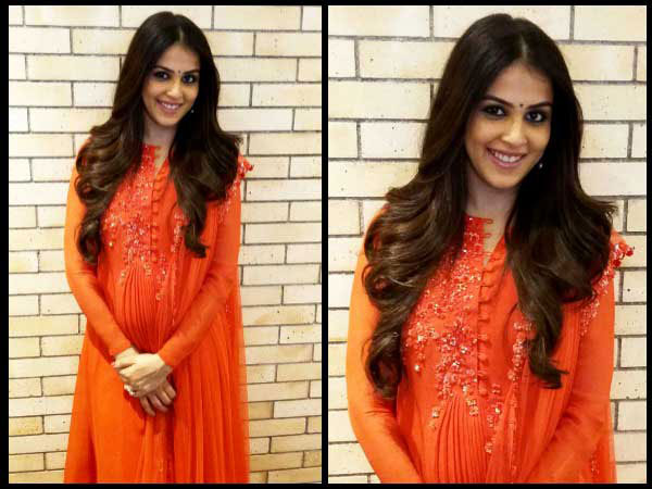 Genelia D'Souza fashion
