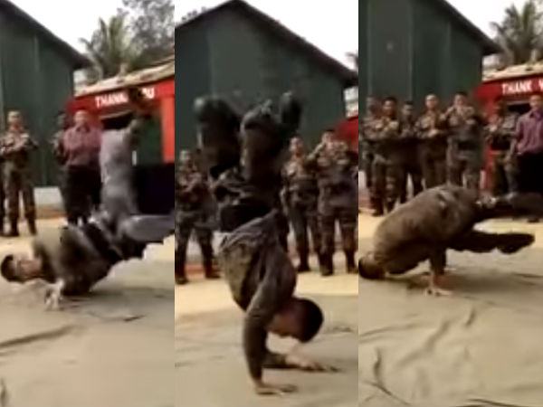 Viral Video Of Army Man Dancing