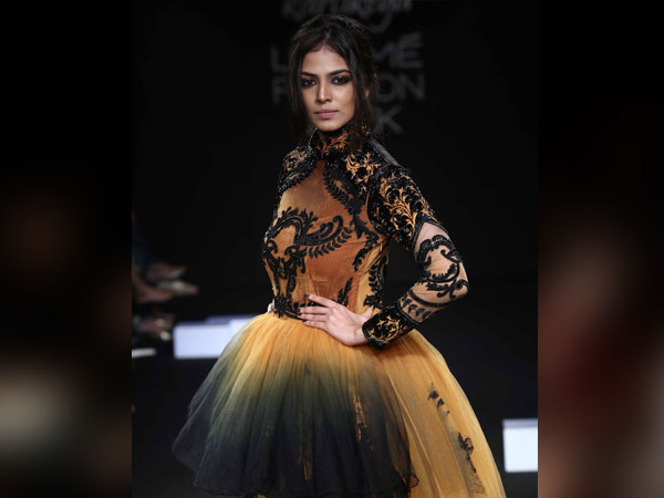Malavika Mohanan Lakme Fashion Week 2018