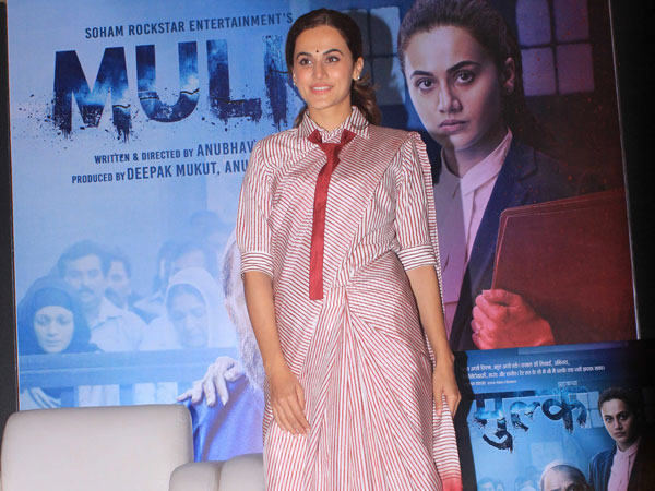 Can A Tie Be Teamed With A Sari? Taapsee Pannu Will Show You How