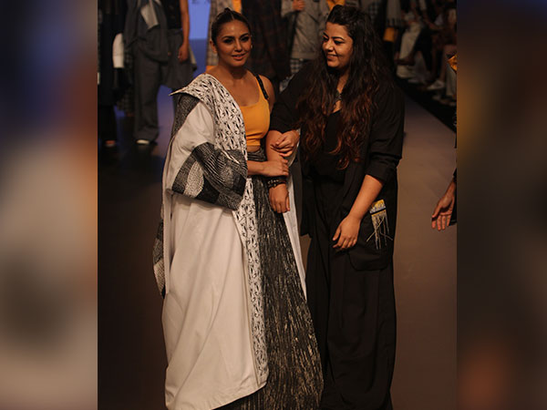 Huma Qureshi Lakme Fashion Week