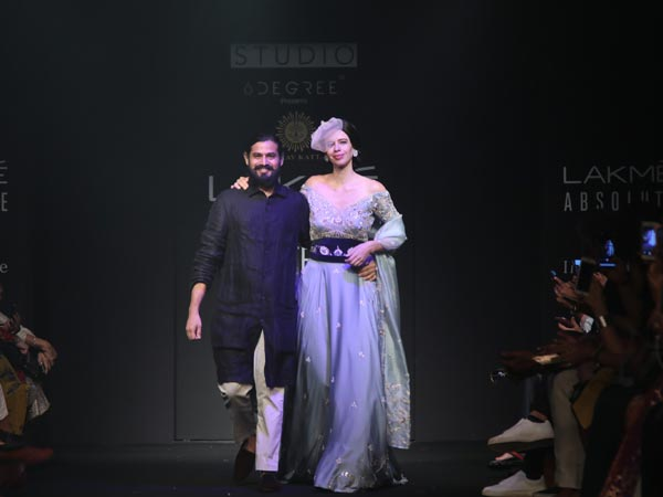 Kalki Koechlin Lakme Fashion Week 2018