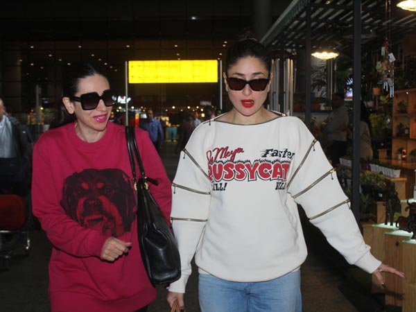 Kareena & Karisma Kapoor's Airport Style Is About Making Basics Look Rocking