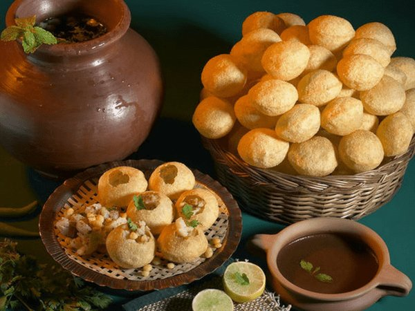 pani puri for weight loss