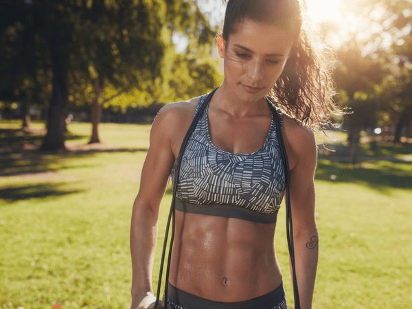 womens fitness how to get six-pack abs