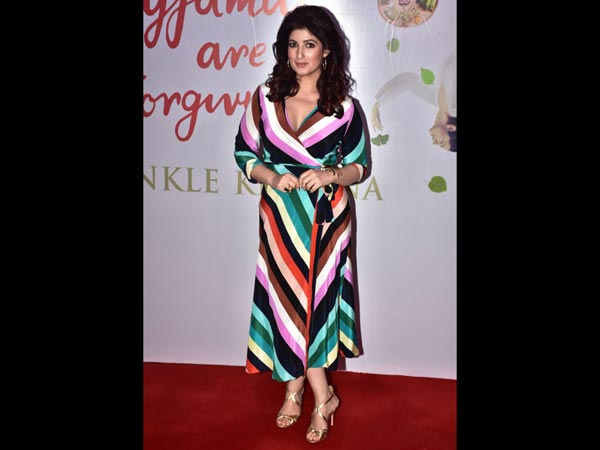 Twinkle Khanna Pyjamas are Forgiving