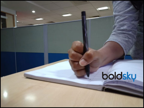 Style Of Holding A Pen And Personality