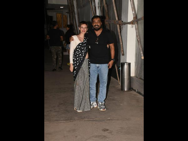 Anurag Kashyap and Kalki Koechlin