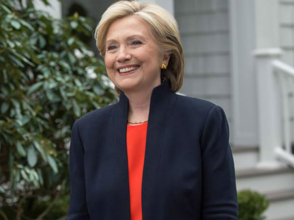 Hillary Clinton Indian Designer