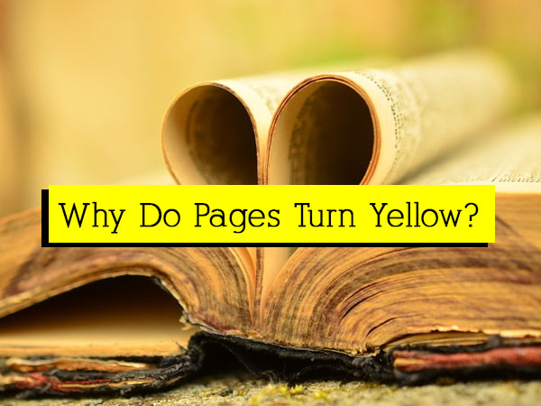 why papers turn yellow