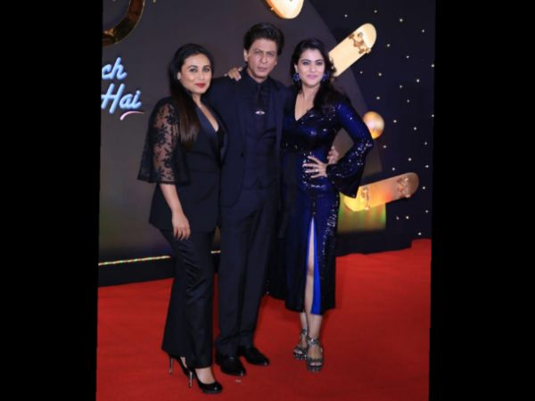 Shah Rukh Khan, Kajol, And Rani Mukerji Dazzle Us With Their Style At This Celebratory Event