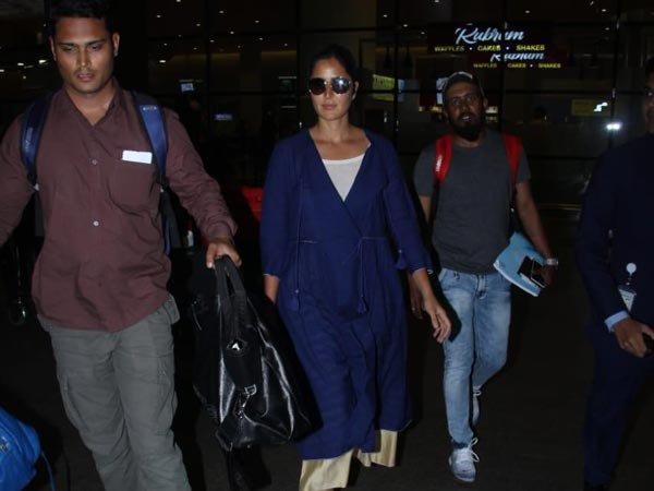 Katrina Kaif's Latest Airport Style Is About Giving The Ethnic Attire A Western Touch