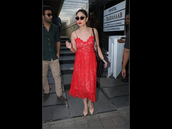 Kareena Kapoor Khan's Red Dress Is What You Would Want To Steal For Your Next Date