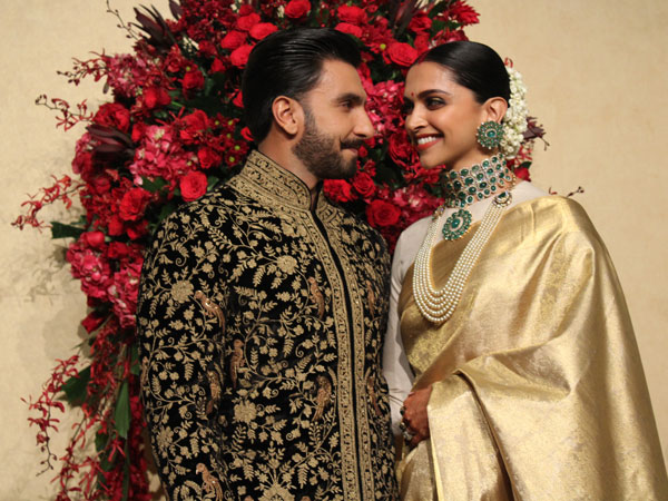 Deepika And Ranveer reception