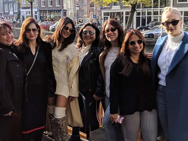 Priyanka Chopra bachelorette party