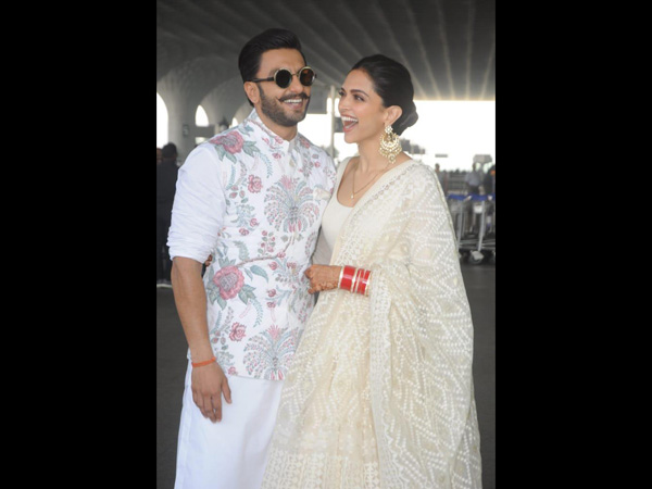 Deepika Padukone And Ranveer Singh's Airport Outfits Are The Traditional OOTDs