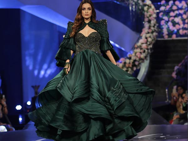 Dia Mirza's Showstopper Gown Is About Minimalism And Grandeur