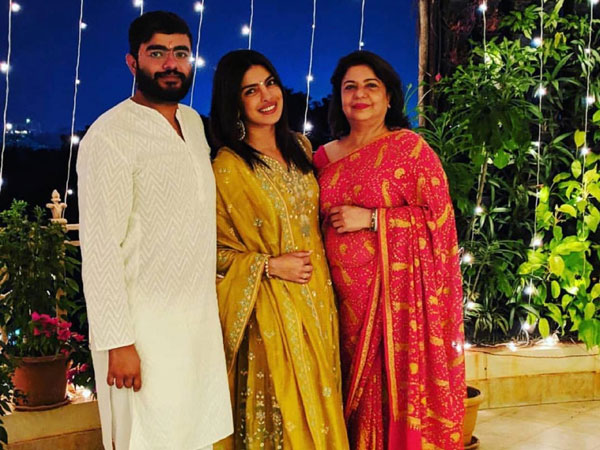Priyanka Chopra Sports A Traditional Look After A Long Time As She Celebrates Diwali With Her Family