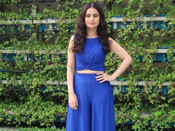 Rasika Dugal Gives Cool Vibes With Her Blue-hued Separates