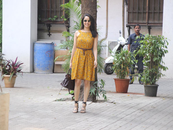 Shraddha Kapoor Gave Us One More Cute Dress Goal With This Floral Summery Dress